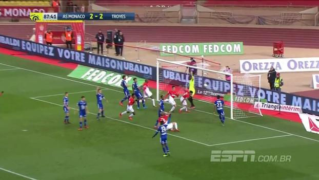 Assista aos melhores momentos da vitória do Monaco sobre o Troyes por 3 a 2!
