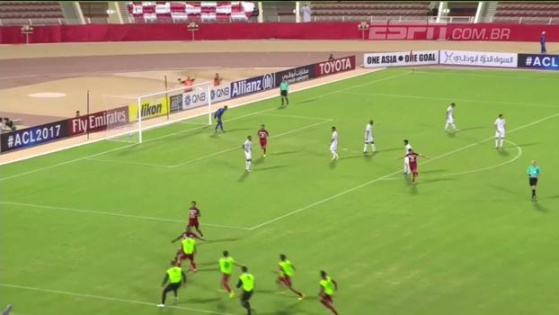 Veja os gols das partidas de ida das quartas de final da Liga dos Campeões da Ásia