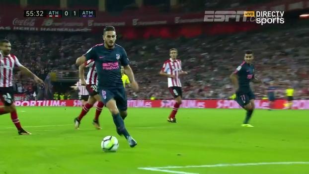 Veja os melhores momentos de Athletic Bilbao 1 x 2 Atlético de Madrid