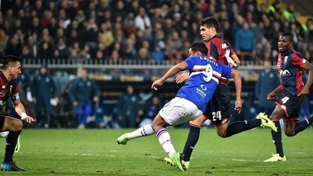 Genoa vacila na saída de bola, Muriel aproveita e garante vitória da Sampdoria