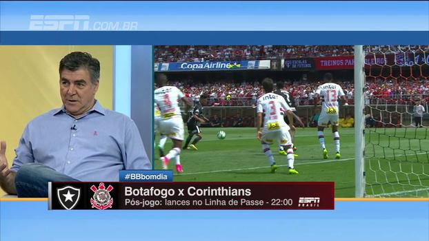 Para Zetti, partida contra o Botafogo é o momento decisivo do Corinthians: 'Jogo da vida'