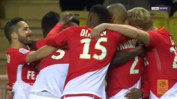 Francês: Gol de Monaco 1 x 0 Angers