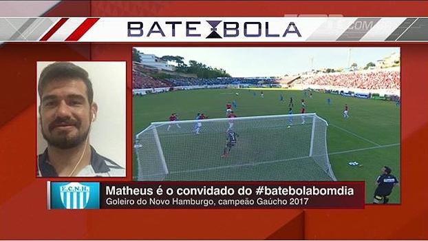 8a83dd8fef Goleiro do Novo Hamburgo diz que clube não projetava título   Primeira meta  era ficar