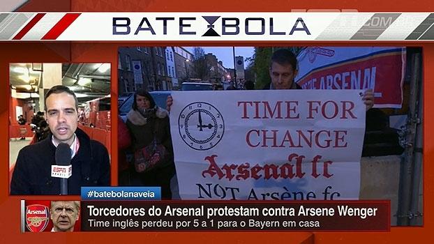 Pressão 'inevitável' e relação desgastada com Sánchez: João Castelo fala sobre situação de Wenger