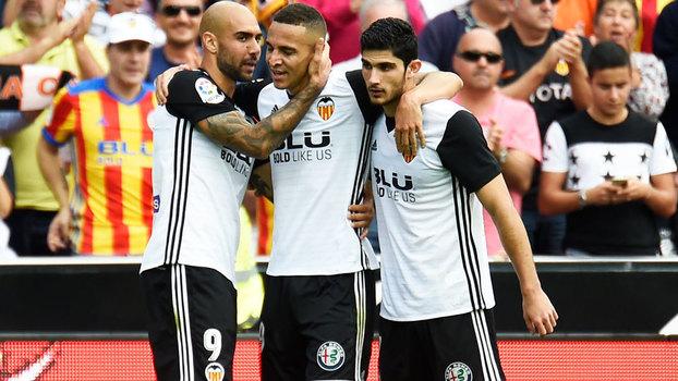 La Liga: gols de Valencia 3 x 0 Leganés