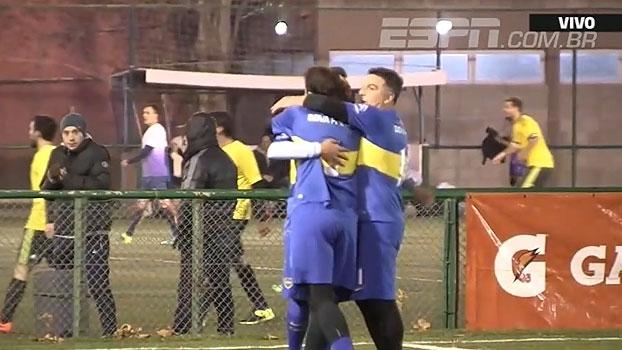 Boca Juniors vence superclássico contra o River Plate em torneio de seniores