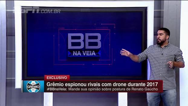 Renato Rodrigues dá ponto de vista do analista de desempenho em caso de espionagem: 'Não apaga o que o Grêmio fez no ano'