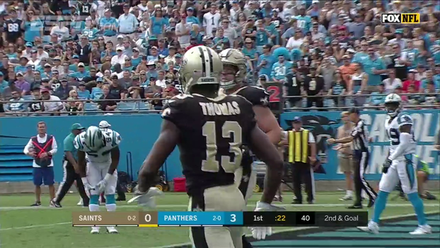 NFL: Melhores momentos de Carolina Panthers 13 x 34 New Orleans Saints