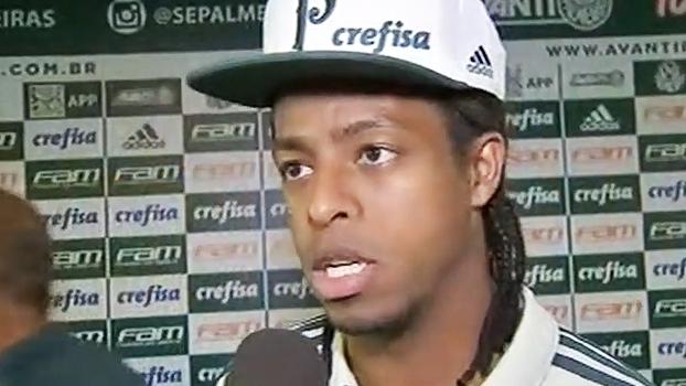 'Foi minha melhor atuação pelo Palmeiras', diz Keno