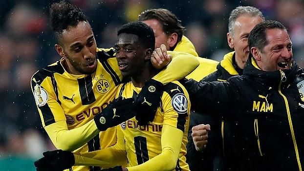 Copa da Alemanha (semi/jogo único): Gols de Bayern de Munique 2 x 3 Borussia Dortmund