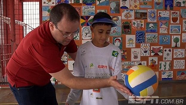 Apresentadores da ESPN participam da Caravana do Esporte e falam sobre influência na vida das crianças