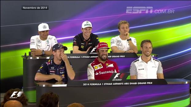 3 anos atrás, repórter fez a pergunta mais longa da história da Formula 1 e Vettel não perdoou