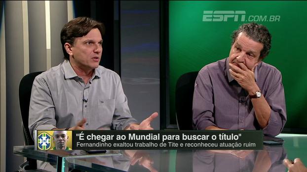 Mauro vê David Luiz 'muito marcado', mas sugere: 'Acho que deveria ser convocado'