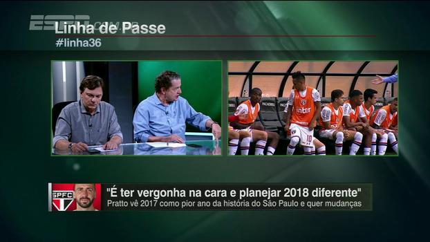 Juca pondera presença de Cueva no banco do São Paulo contra o Botafogo: 'Foi uma atitude autopunitiva'