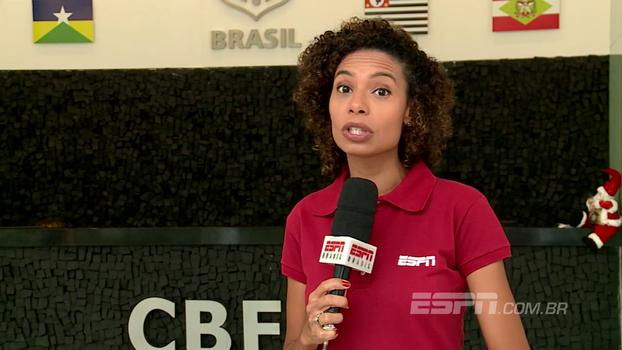 Débora Gares conta como foi o sorteio da Copa do Brasil de 2018
