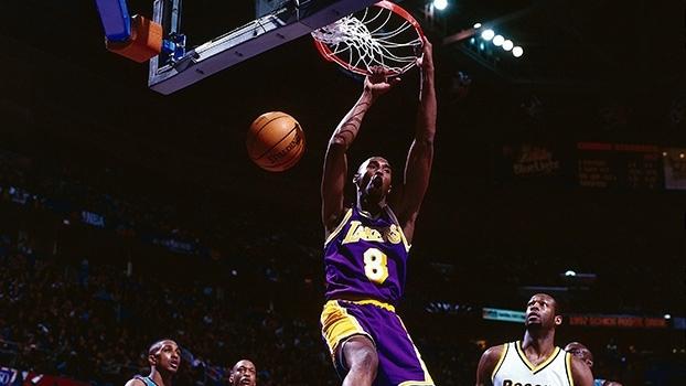 Há 18 anos, jovem Kobe Bryant brilhou em All-Star Game dos calouros e ganhou campeonato de enterradas
