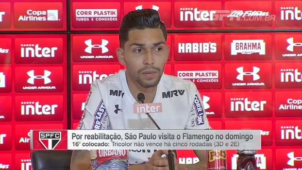 Eduardo Affonso conta como foi apresentação de Petros no São Paulo