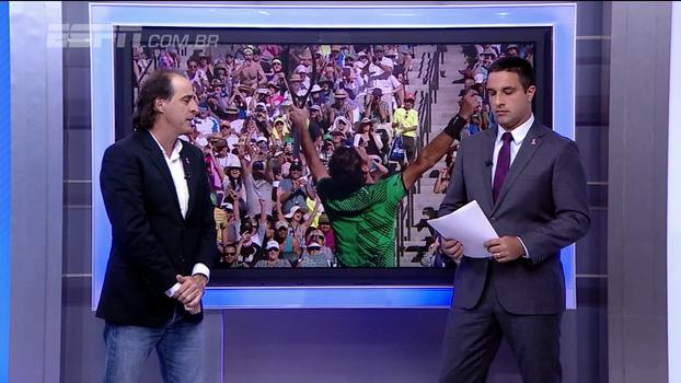 Federer nº1? Meligeni não acredita e diz: 'Não acho que ele está tão preocupado assim'