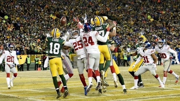 NFL - playoffs: Melhores momentos de Green Bay Packers 38 x 13 New York Giants
