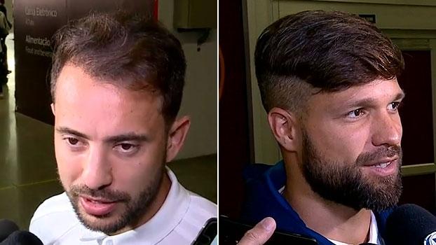 Éverton Ribeiro já se vê 'em casa' no Flamengo; Diego vê oscilação como normal