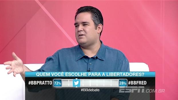 Bertozzi critica dupla de volantes do Atlético-MG: 'Saber jogar não é desculpa para não marcar'