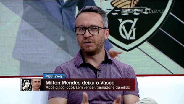 Barros avalia 'risco' em Zé Ricado no Vasco, mas pondera: 'Acho que tem condições de treinar qualquer time no Brasil'