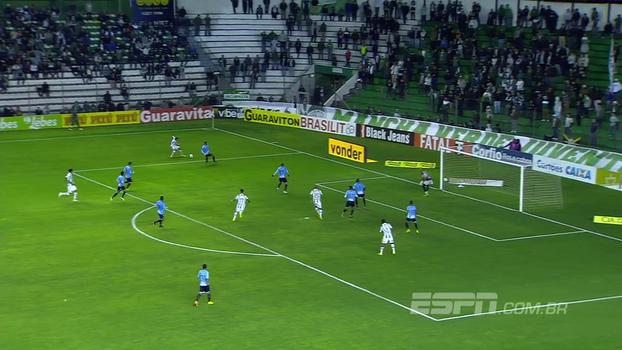 Assista ao gol de Juventude 1 x 0 Paysandu