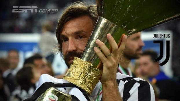 Depois de anunciar aposentadoria, veja números de Andrea Pirlo pelos clubes e pela seleção italiana