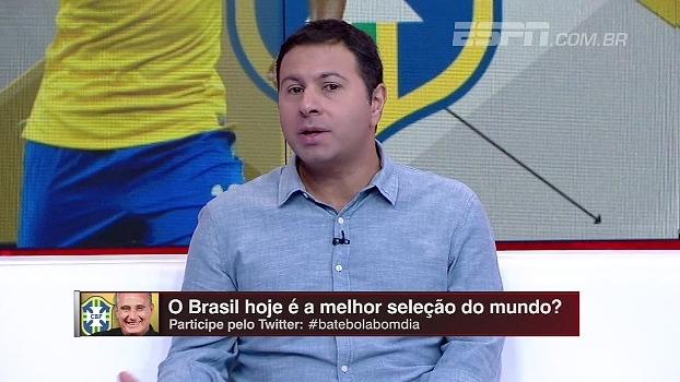 Brasil é a melhor seleção no momento? Para Marra, ainda é preciso testar com outras escolas