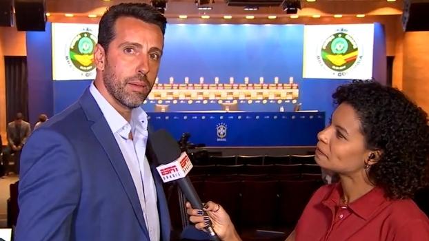 Edu Gaspar entende vontade de empatar de Tite no amistoso, mas diz que atletas querem oportunidade