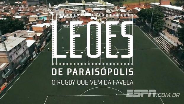 'Leões de Paraisópolis - O Rugby que vem da favela' estreia na próxima quarta, 12/07, à meia-noite, na ESPN Brasil