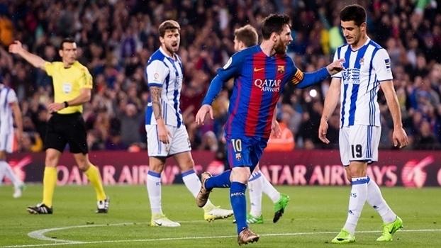 LaLiga: Gols de Barcelona 3 x 2 Real Sociedad