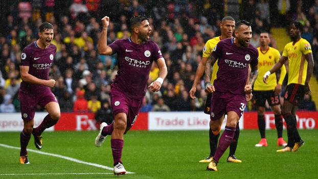 Premier League: Gols de Watford 0 x 6 Manchester City