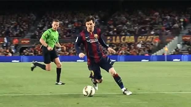 Veja a reportagem do jogo entre Barcelona e Almeria