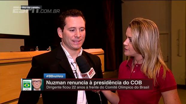 Gabi Moreira fala sobre novo presidente do COB e conversa com Thiago Camilo sobre novidades em estatuto