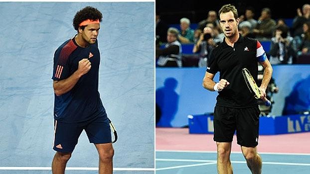 ATP 250 de Montpellier: Lances de Tsonga 2 x 0 Medvedev e Gasquet 2 x 0 De Schepper
