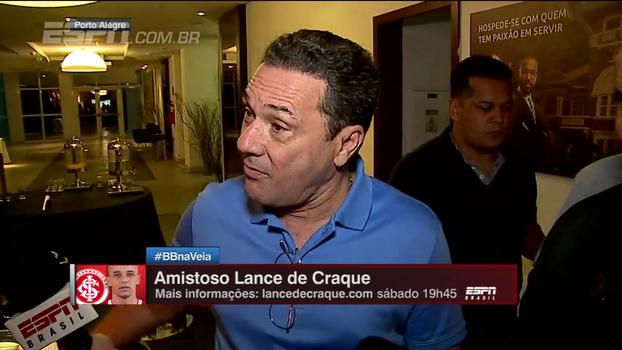 Luxemburgo fala de Real x Grêmio e, questionado sobre seu futuro, dá patada em Cícero Mello: 'Normal você ser chato como você é'