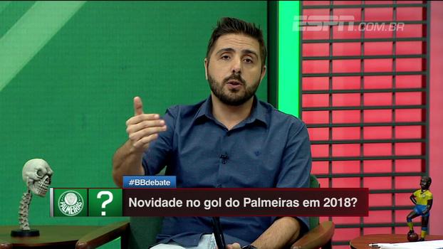 Nicola traz detalhes: 'Palmeiras contratará um goleiro para 2018'