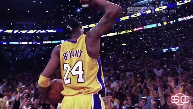 Relembre lances marcantes de Kobe e veja por que Lakers vão aposentar os dois números do craque