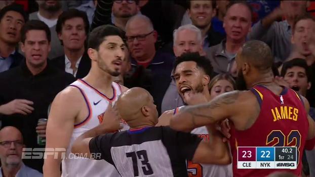 NBA: melhores momentos de New York Knicks 101 x 104 Cleveland Cavaliers
