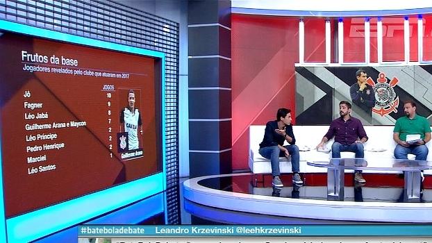 BB Debate analisa opções da base do Corinthians; Nicola traz informações sobre o futsal do clube