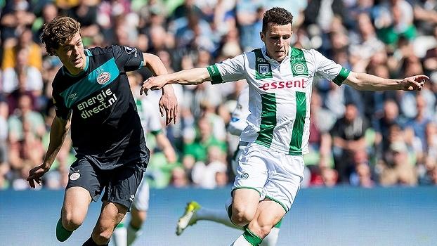 Assista aos gols do empate em 1 a 1 entre Groningen e PSV