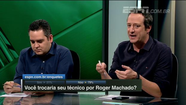 Gian analisa Micale no Atlético-MG e lembra desempenho da seleção na Olimpíada: 'Não foi um grande trabalho'