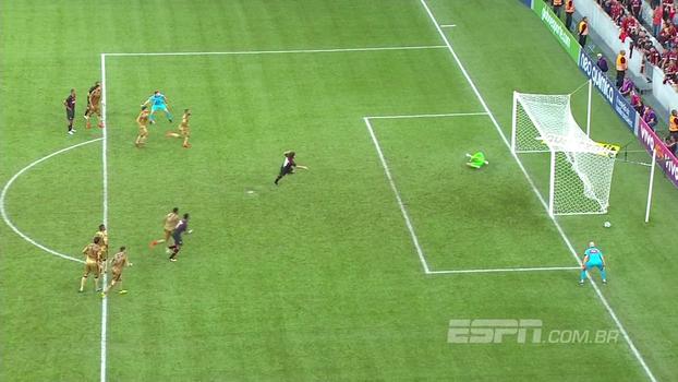 Veja os gols de Atlético-PR 2 x 1 Sport