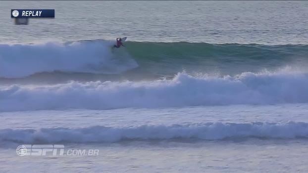 Medina passa por Young e Duru para avançar às quartas na etapa da França do Mundial de surfe