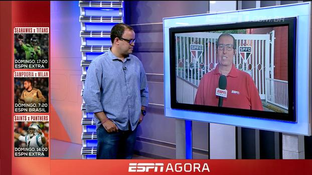Dúvida na lateral e posição de Cueva; Eduardo Affonso traz preparação do São Paulo para o clássico contra o Corinthians