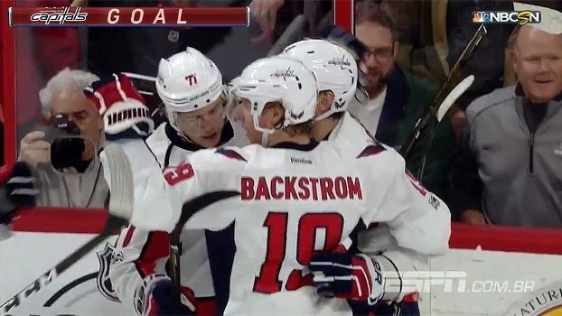 Capitals derrotam Flyers com facilidade na NHL e segue na liderança da conferência