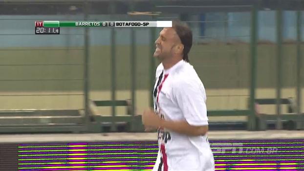 Showbol: Bordon solta a canhota na bola e faz golaço para o Botafogo-SP