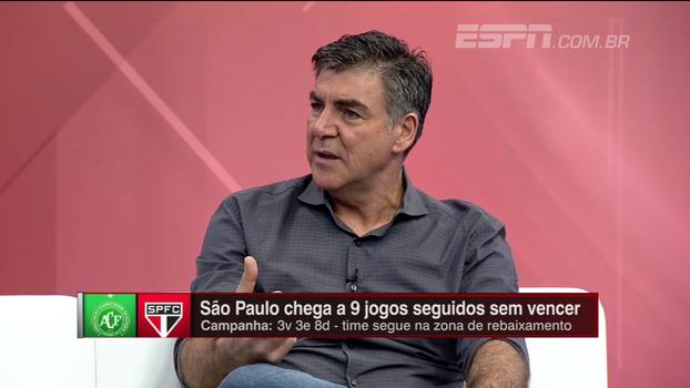 Zetti sobre momento do São Paulo: 'Se dentro de campo esses jogadores não tiverem atitude, não vão buscar resultados'