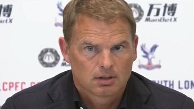 Agora no Crystal Palace, Frank de Boer comemora: 'Com certeza fiz a escolha certa'